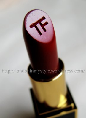 TOM FORD Lipstick: Crimson Noir (review & swatches)