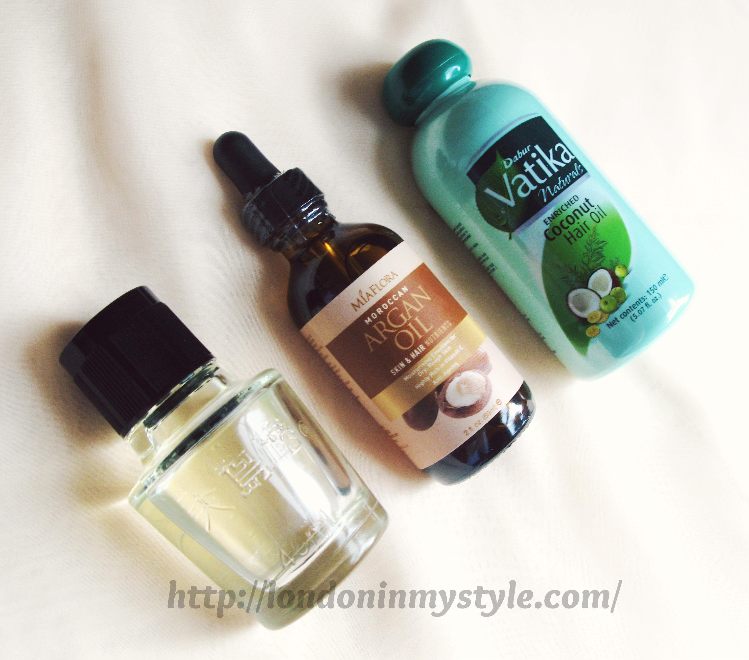 Kosmetologicheskie los aceites para los cabellos