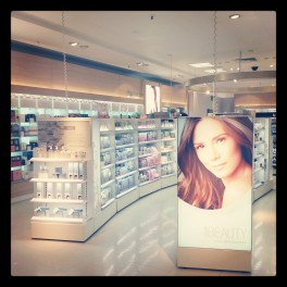 marks and spencer beauty hall