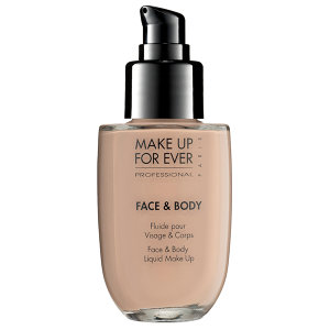 makeup forever face and body