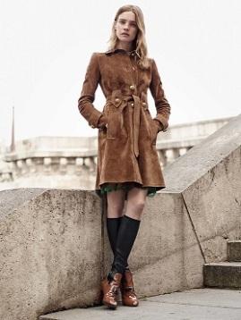 suede coat trend